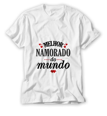 Camisa Melhor Namorado do Mundo