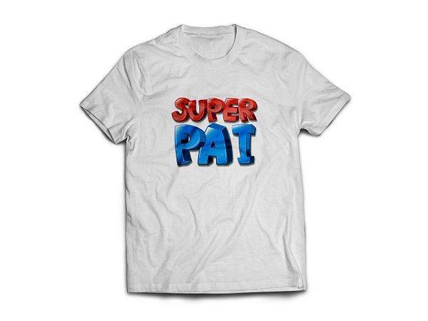 Camisa personalizada  Super Pai