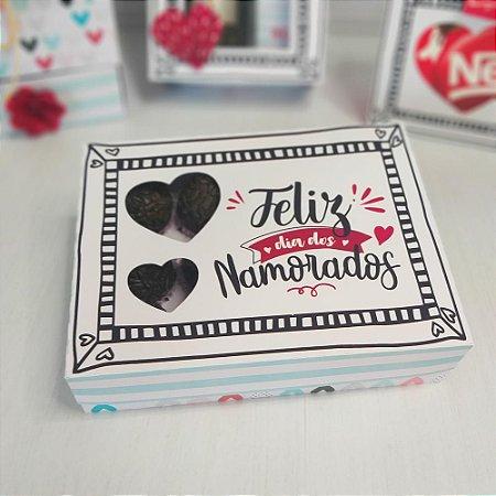 Caixa Brigadeiro Dia dos Namorados