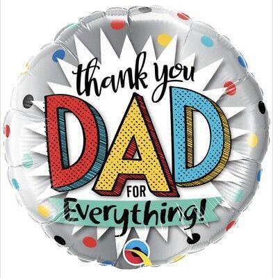Balão Metalizado  Thank you Dad for Everything