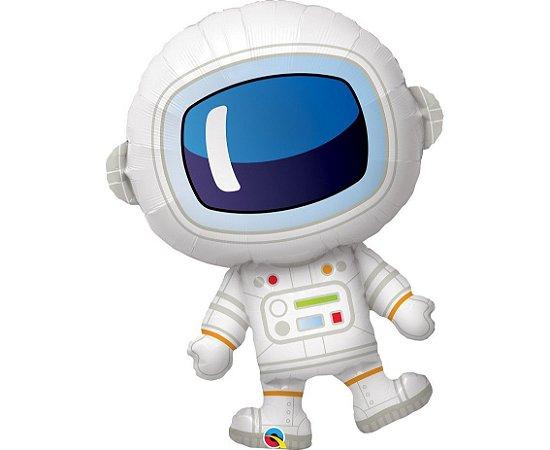 Balão Metalizado para Festa Astronauta  74 cm