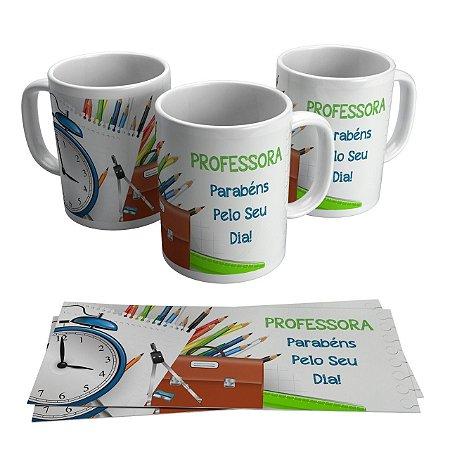 Caneca Cerâmica Profissão - Professora