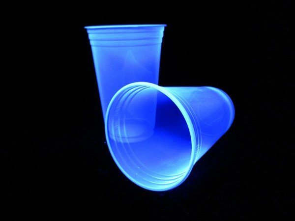 Copo Descartável  Premium 300 ml - Azul Neon