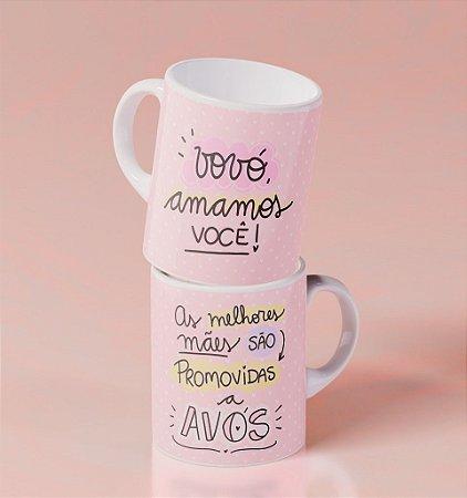 Caneca Cerâmica - As Melhores Mães são Promovidas a Avós