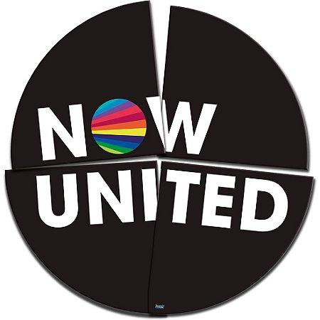 Painel Decorativo Redondo - 90 Cm - Now United