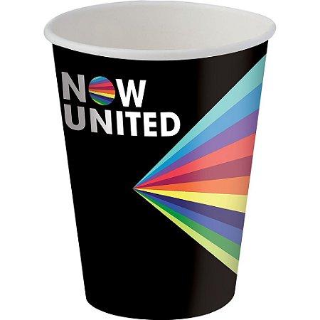 Copo de Papel 180ml - Now United - 08 unidades