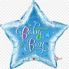Balão Estrela Baby Boy - Chá de Bebê - 91 cm - Gigante