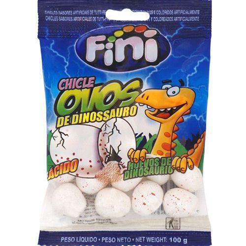 Ovos de Dinossauro com Recheio Cítrico 230g - Fini
