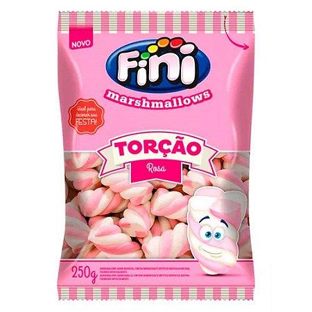 Marshmallows Torção Rosa- 250 g
