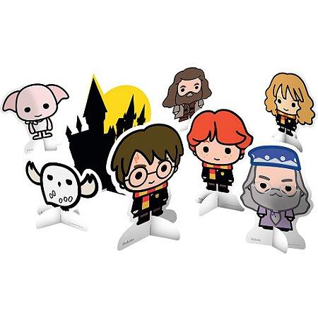 Decoração De Mesa -Harry Potter Kids- 08 unidades