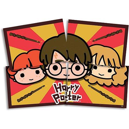 Painel 4 Folhas - Harry Potter Kids