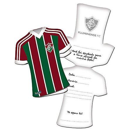 Convite Camisa Fluminense - 08 unidades