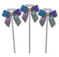 Topo de Bolo - Laço Tie Dye