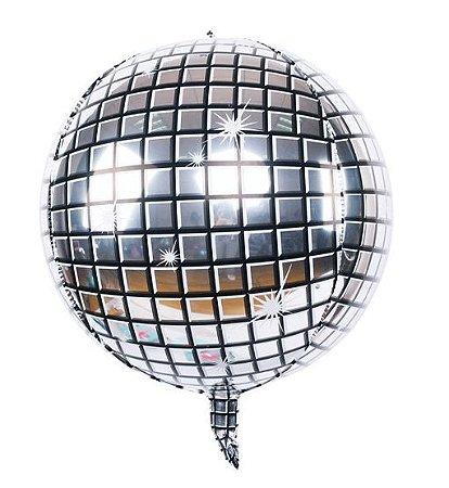 Balão Metalizado Globo Espelhado - 56cm