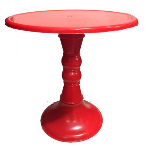 Boleira Colonial - Vermelha - 28cm