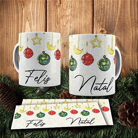 Caneca Cerâmica - Feliz Natal