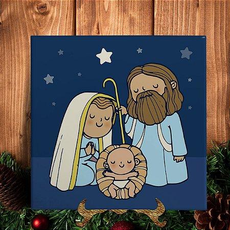 Azulejo Personalizado - Nascimento de Jesus
