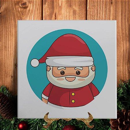Azulejo Personalizado - Papai Noel