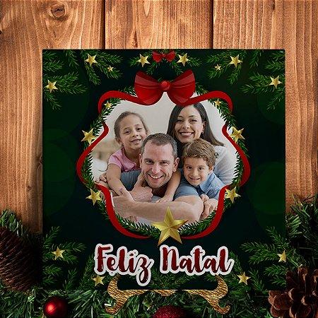 Azulejo Personalizado de Natal - Qualquer Foto