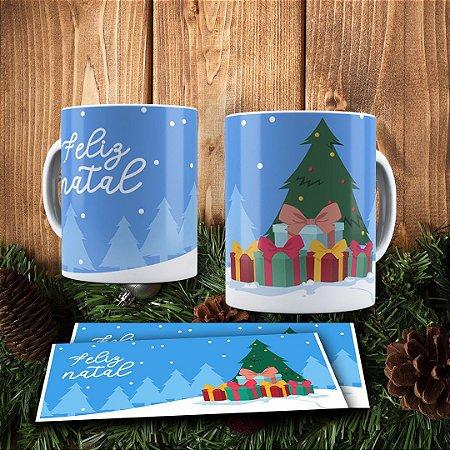 Caneca Cerâmica - Árvore de Natal