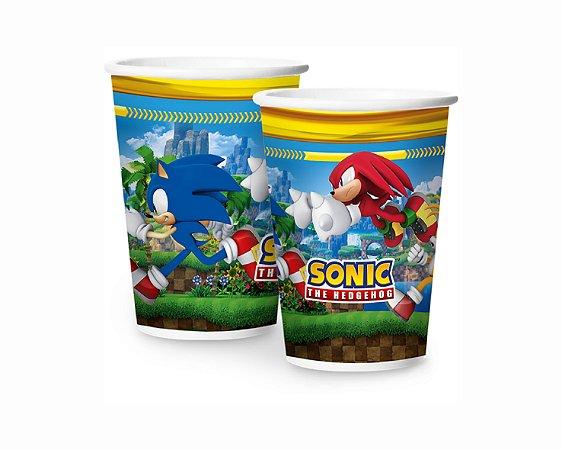 Copo de papel - Sonic