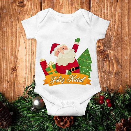 Body de Natal - Feliz Natal do Papai Noel