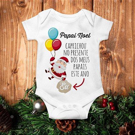 Body de Natal - Presente do Papai Noel