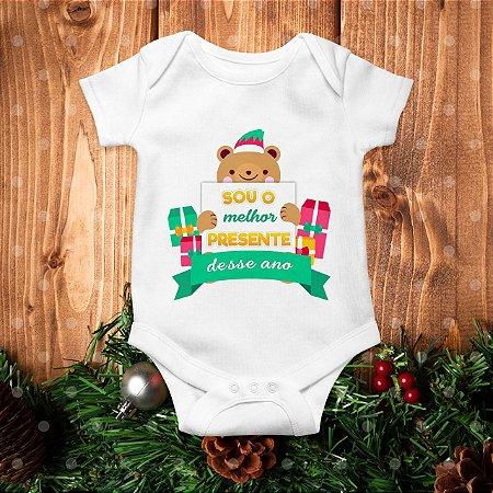 Body de Natal - Sou o Melhor Presente Desse Ano