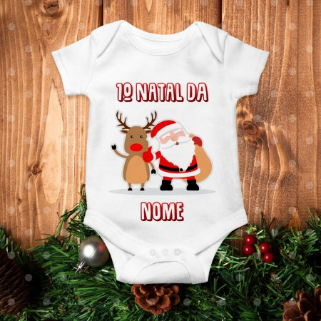Body Primeiro Natal Personalizado