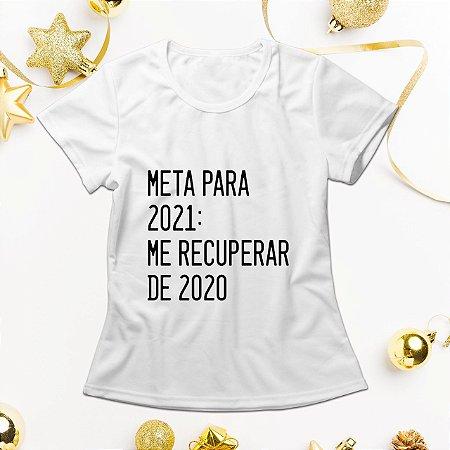 Camisa Personalizada - Metas Para 2021
