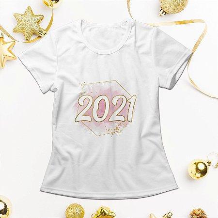 Camisa Personalizada - 2021 Rosa