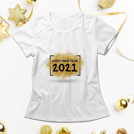 Camisa Personalizada - Happy New Year 2021
