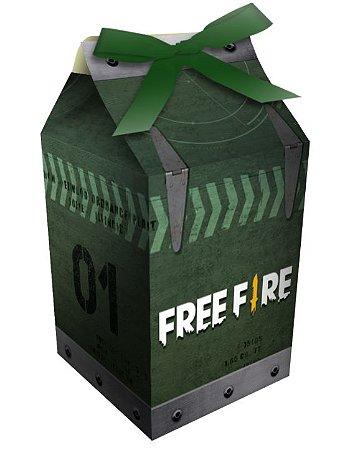 Caixa Milk - Free Fire - 8 unidades