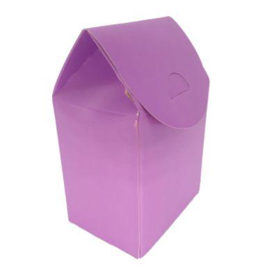 Caixa Milk - Lilás - 6 unidades