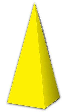 Caixa Cone Amarelo - 10 Unidades