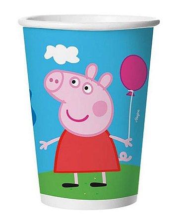 Copo de Papel 180ml - Peppa Pig - Leve 12 unidades e Pague 10
