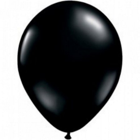 Balão Latex  nº9  - Preto - pic pic