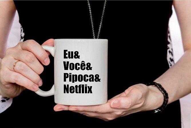 Caneca Cerâmica - Netflix