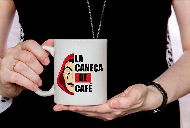 Caneca Cerâmica - La caneca de café