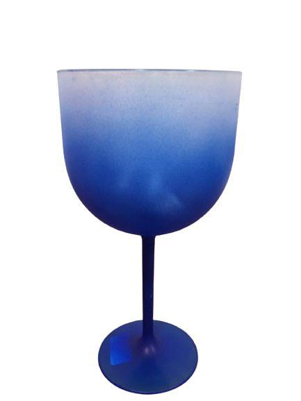 Taça De Gin Degradê  Azul escuro - 01 Unidade