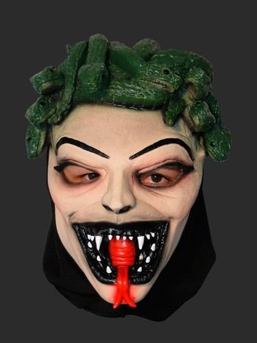 Máscara Latex Carnaval - Medusa
