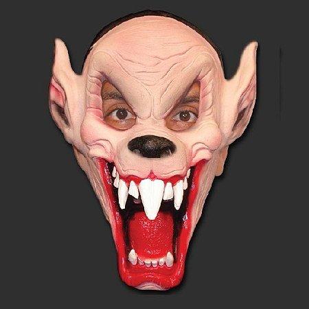 Máscara Latex Carnaval - Lobo Risada