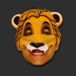 Máscara Latex Carnaval - Simba meio rosto