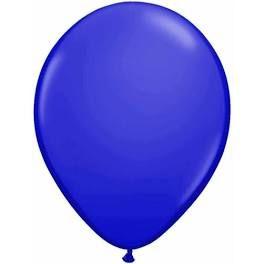 Balão Látex 6,5 Polegadas - Azul escuro - 50 unidades