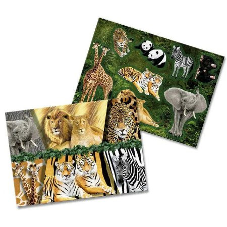 Kit Decorativo - Mundo Animal