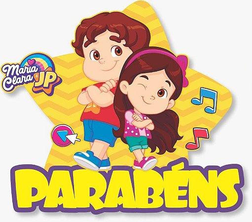 Painel Parabéns - Maria Clara e JP