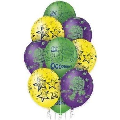Balão Látex - 12 Polegadas - Toy story - 10 unidades