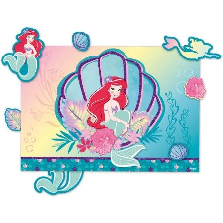 Kit Painel Decorativo - Ariel sereismo