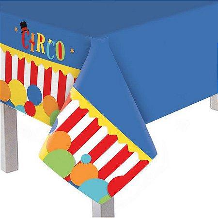 Toalha de Mesa Plástica - Circo