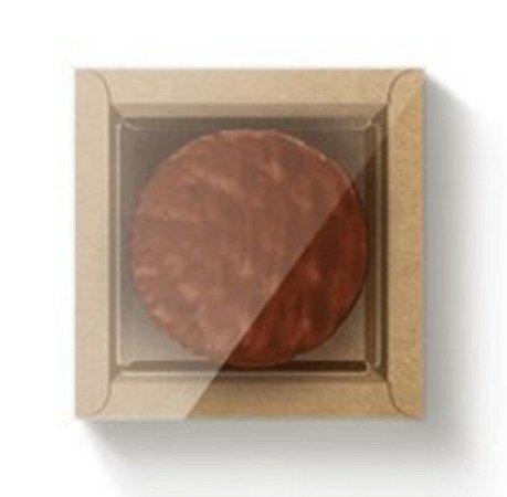 Caixa para doces gourmet - Marrom